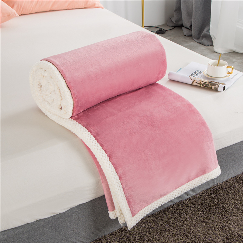 Soft Double-Sided Blanket for Comfortable Warm Sleeping