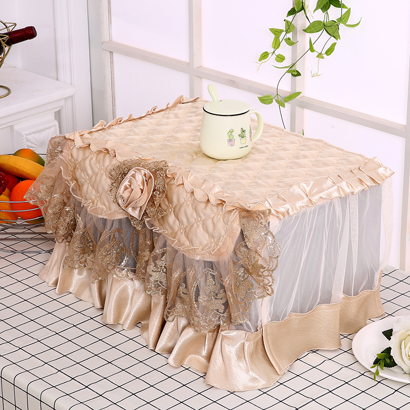 Sophisticated Microwave Oven Dust Cover for Everyday Use