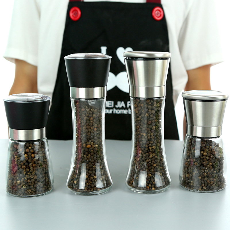 Stainless Easy Use Pepper Grind for Kitchen Condiments