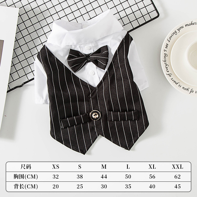 Fancy Pet Tuxedo for Special Occasions