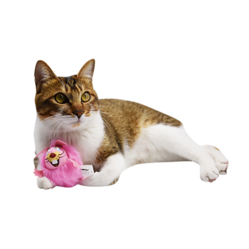 Interactive Soft Plush Mouse Toys for Cats Play Day Supplies