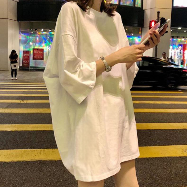 Must-Have Loose Fitting T-Shirt Dress for Street Fashion