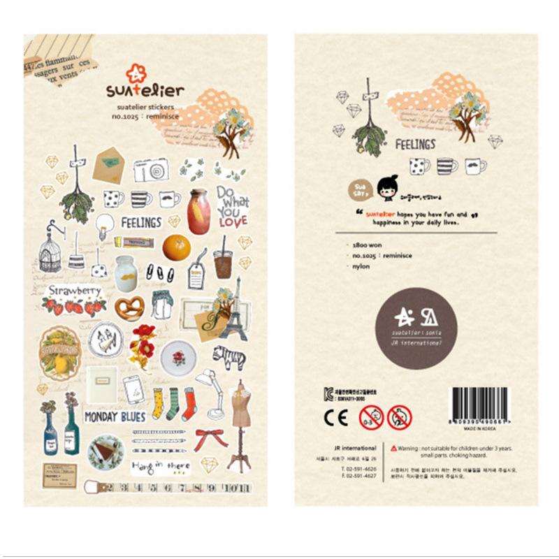 Cute Korean Style Nylon Stickers for Kids