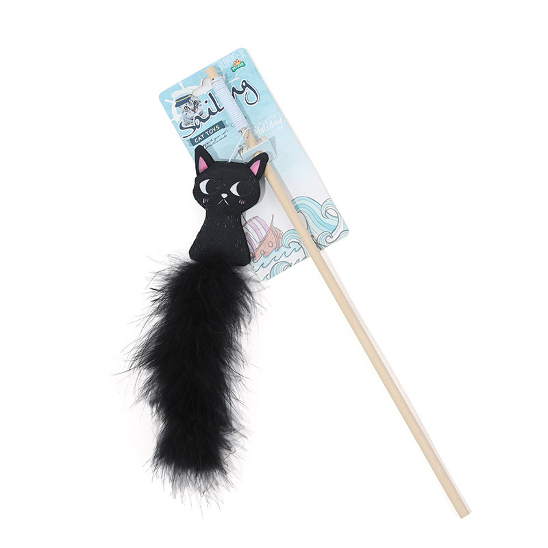 Cute Bite-Resistant Cat Stick Rod for Pets Funny Toys