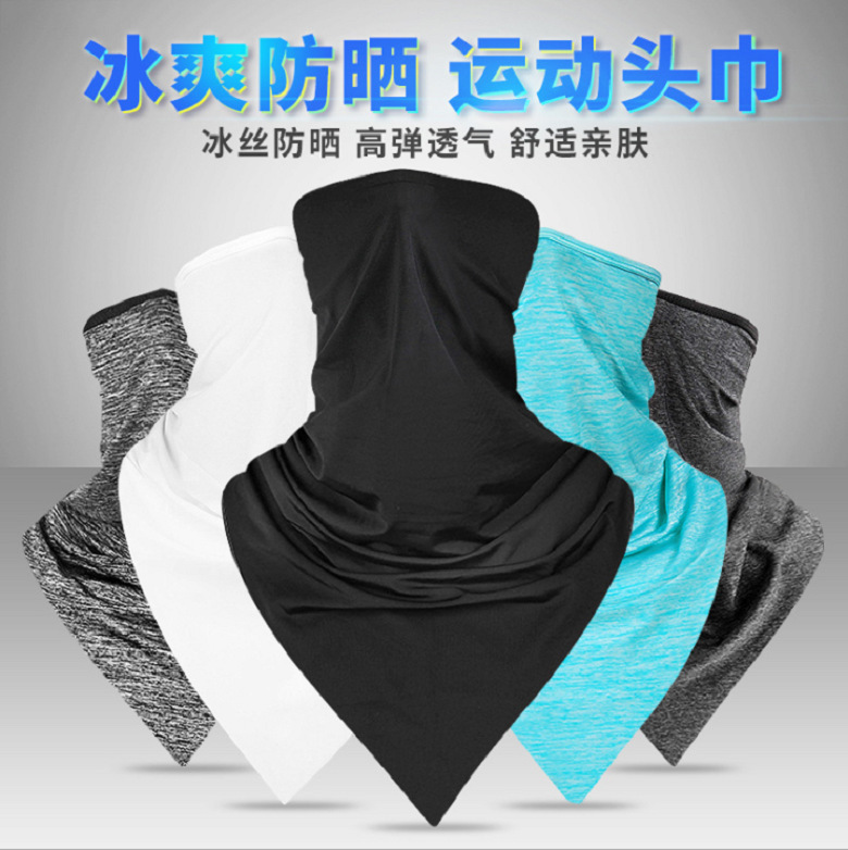 Comfy and Breathable Face and Neck Scarf for Face Protection