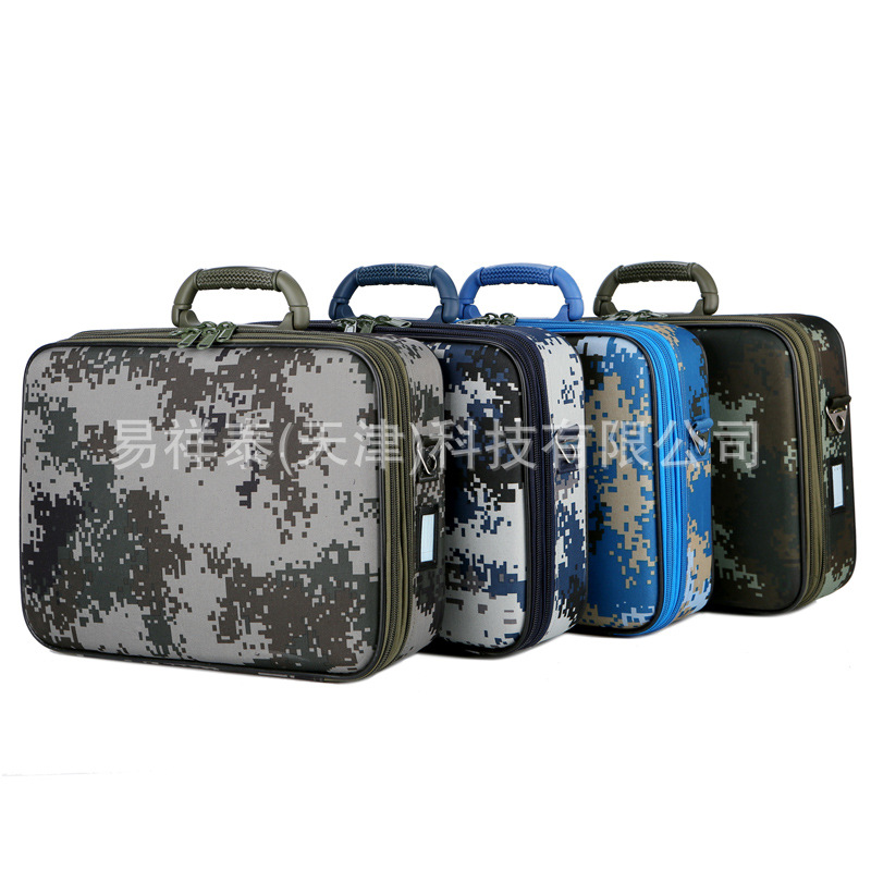 Tactical Camouflage Suitcase Shoulder Bag for Gifts to Men