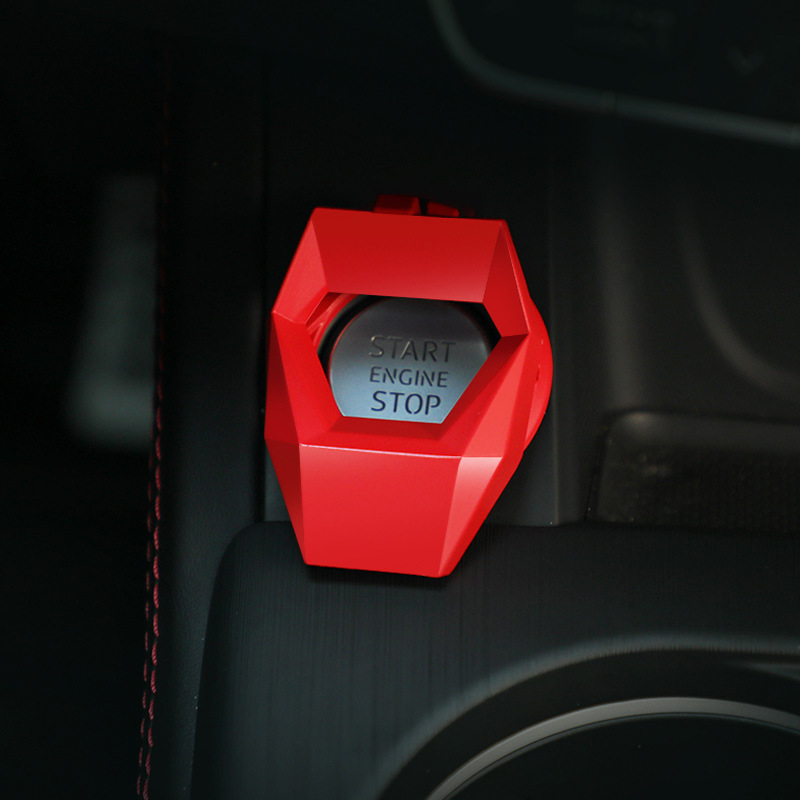 Simple Protective Cover for Car Ignition Ring