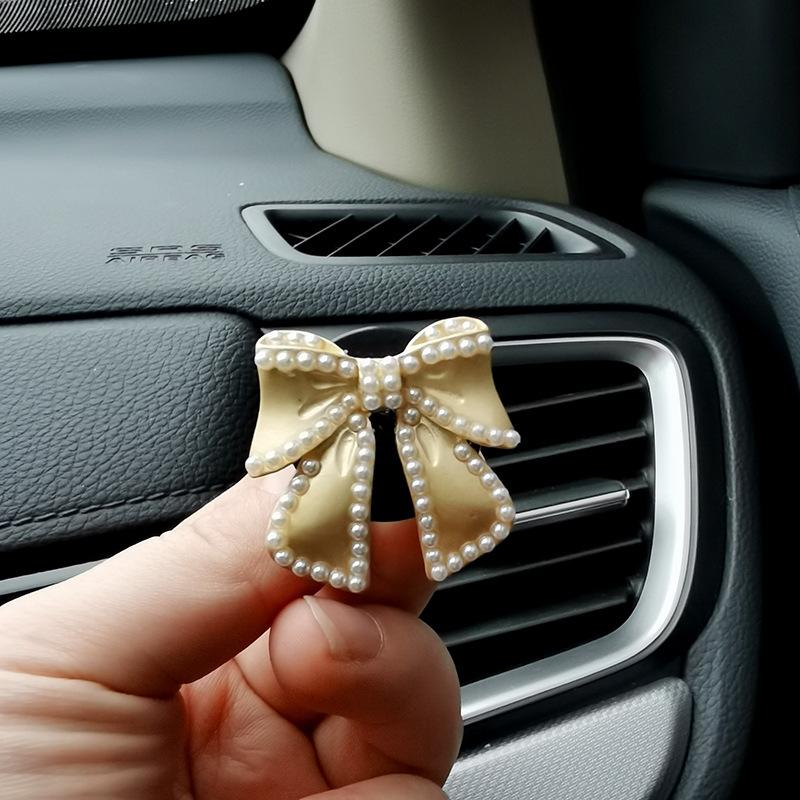 Elegant Ribbon-Designed Car Perfume for Decorating Car's Interior