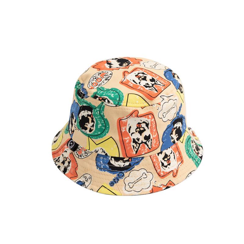 Gender Neutral Dog-Graffiti Children's Hat for Kids' Dress Up