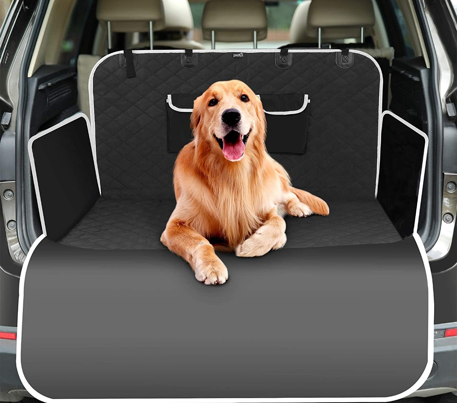 Enormous and Quality Pet Car Mat for Long Vacation Travels