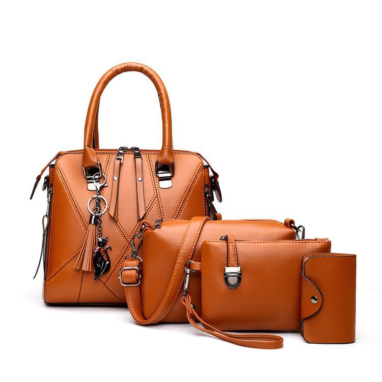Gorgeous Marina Leather Bag Set for Working Moms