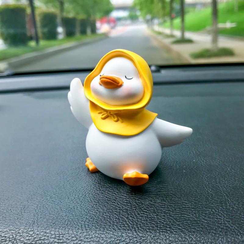 Creative Cute Little Duck for Car Interior Ornaments
