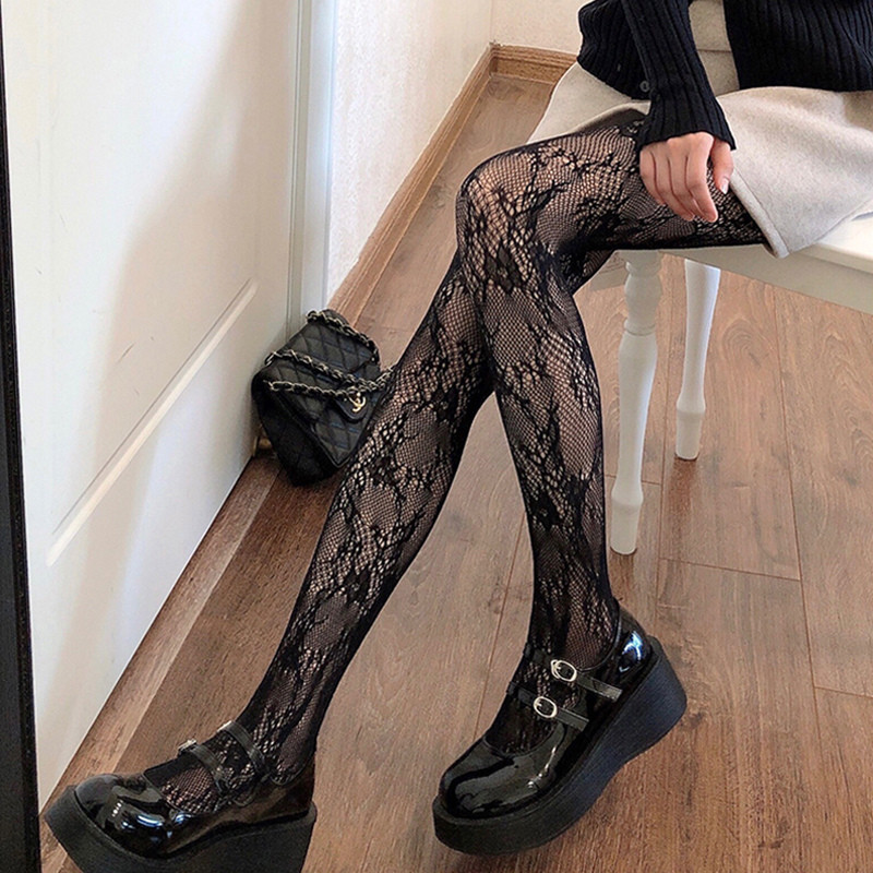 Mesmerizing Lace Design Stockings for Great Pair with Lingerie