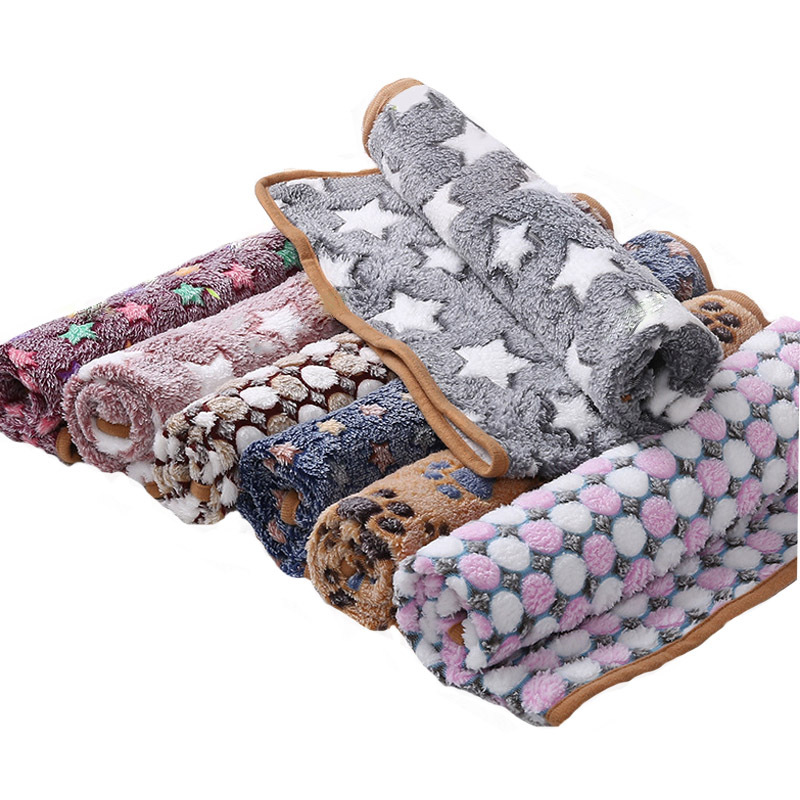 Soft and Comfy Pets Sleeping Blanket for Pets Cozy Deep-Sleeps