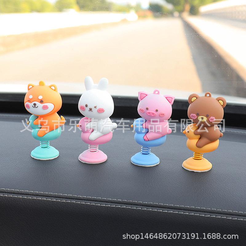 Adorable Little Cartoon Animal for Car Interior Decoration