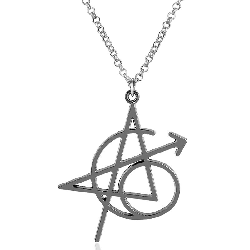 """Cool """"A"""" Lettering Pendant Necklace for Fashion"""