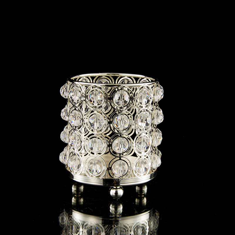 Posh Crystal Candle Holder for Gift Giving