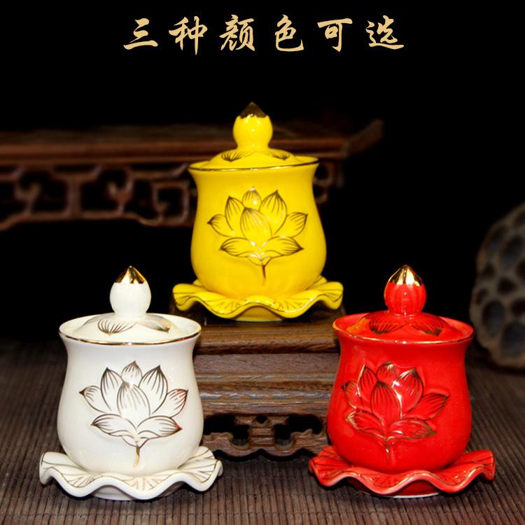 Decorous Retro Buddha Cup for Kitchen Essentials