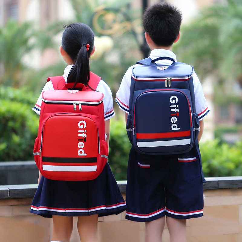 """""""Gifted"""" Glossy Polyester and Nylon Backpack for Holding Your Items"""