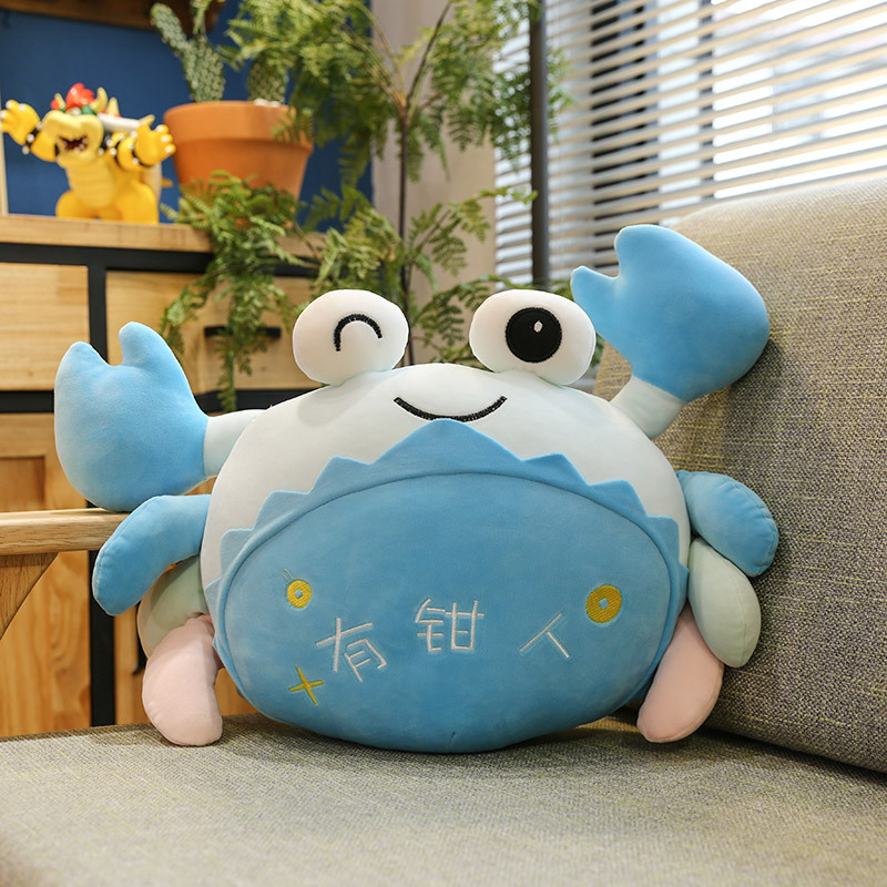Delightful Crab Pillow for Kids Nap Time