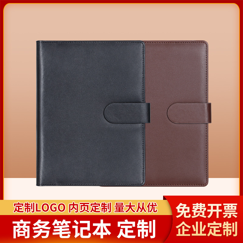 Sleek Ring Binder Notebook for Business and Office Meetings