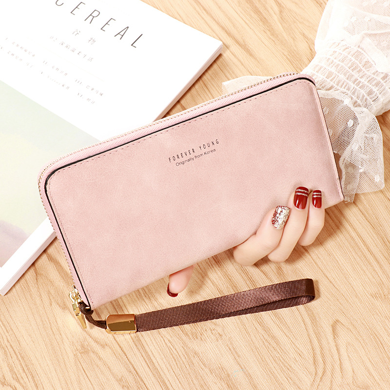Fashionable Polyurethane Leather Wallet for Cards and Cash