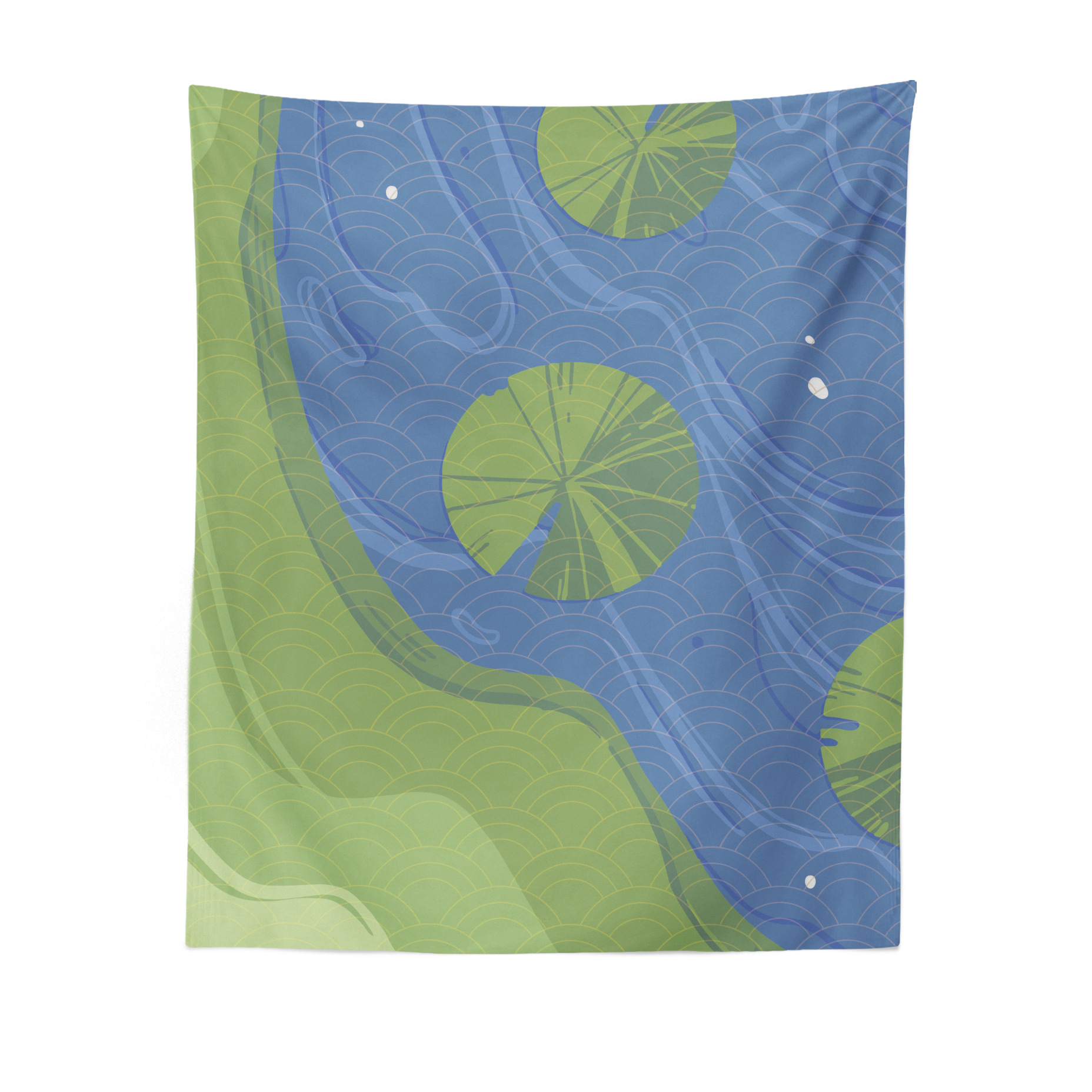 Minimalist Nature-Themed Wall Tapestry for Home Decoration
