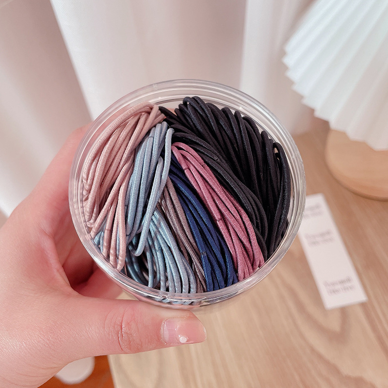 High Elastic Thin Hair Ties for Any Occasion Wear
