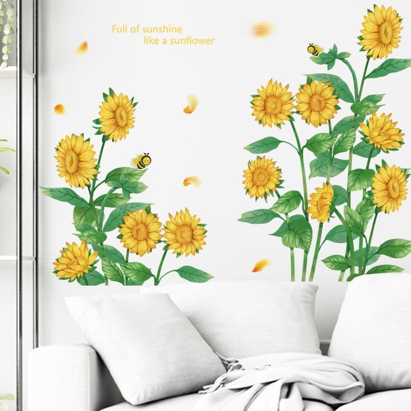 Captivating Self-Adhesive Floral Wall Sticker for Decorating Your Room