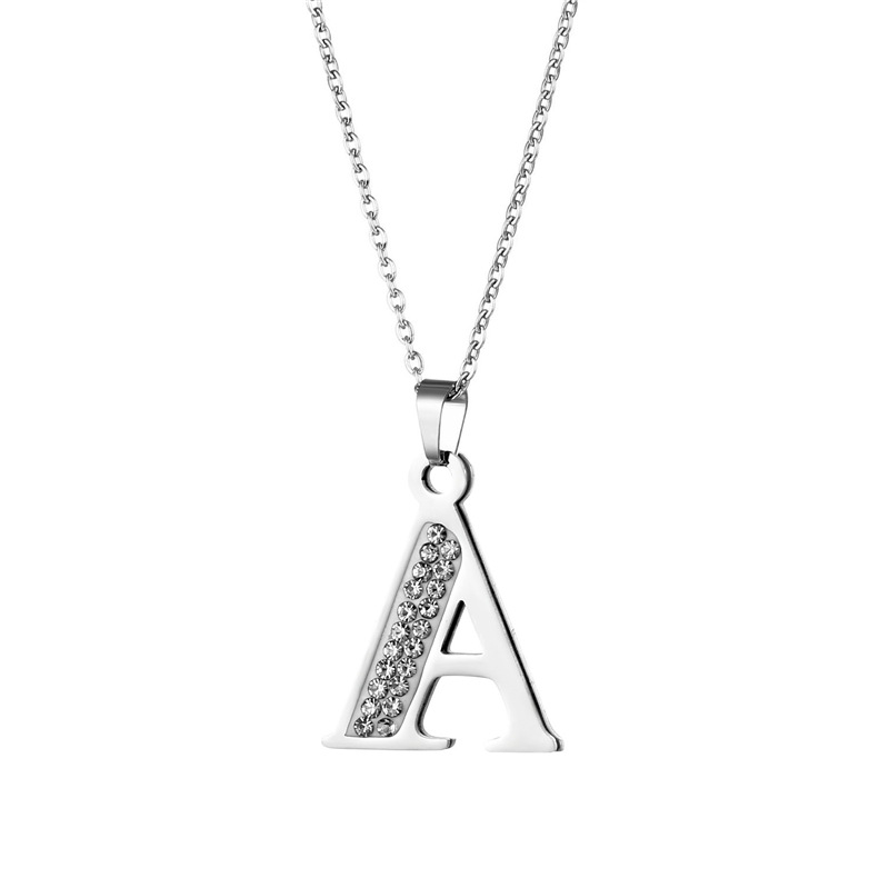 Attractive Initial Necklace for Casual Trendy Looks