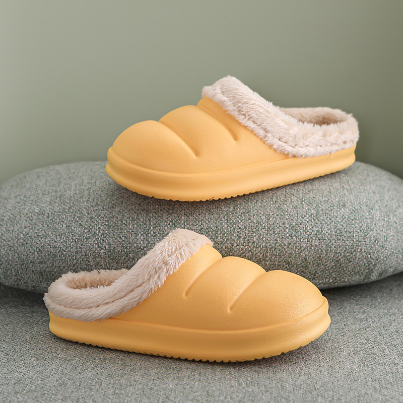 Wear-Resistant Bedroom Slippers for Warmth and Comfort