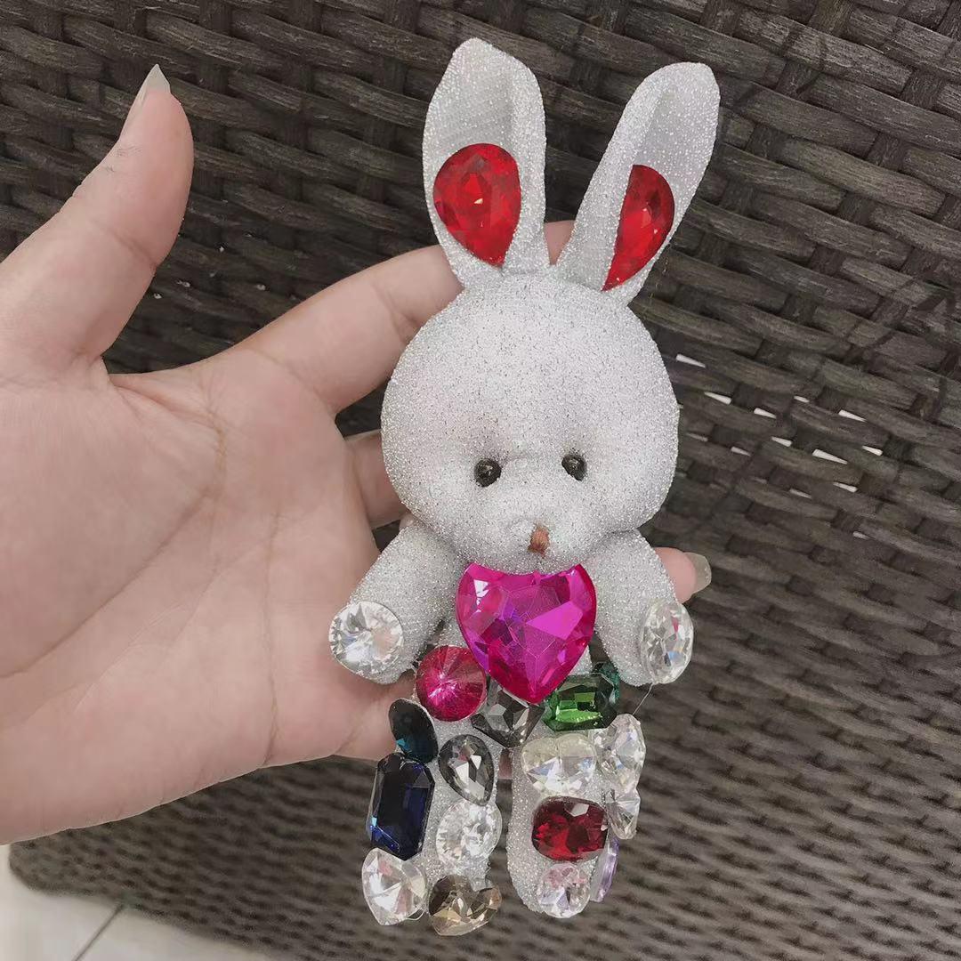 Cute Cartoon Rabbit Scrunchie for Hair Accessories