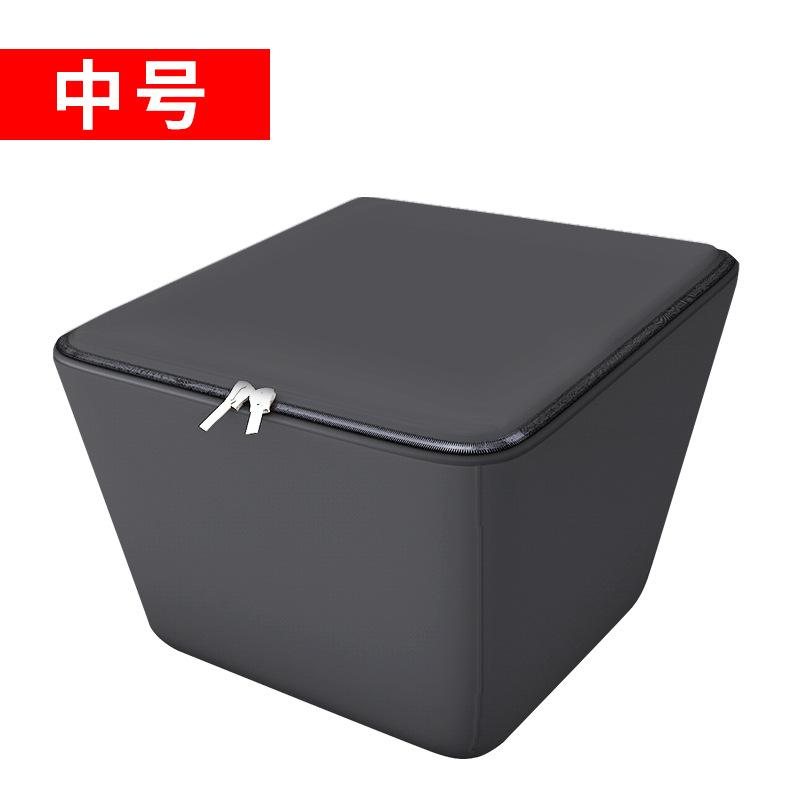 Spacious Durable Waterproof Enclosed Basket for Motorcycle Storage