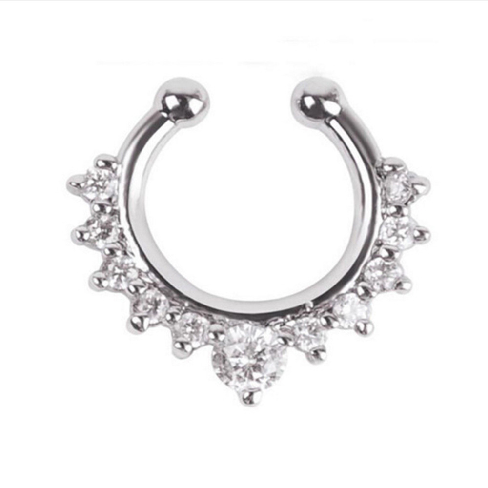 Lovely Anti-Allergy Stainless Steel Nose Piercing for Street Parties