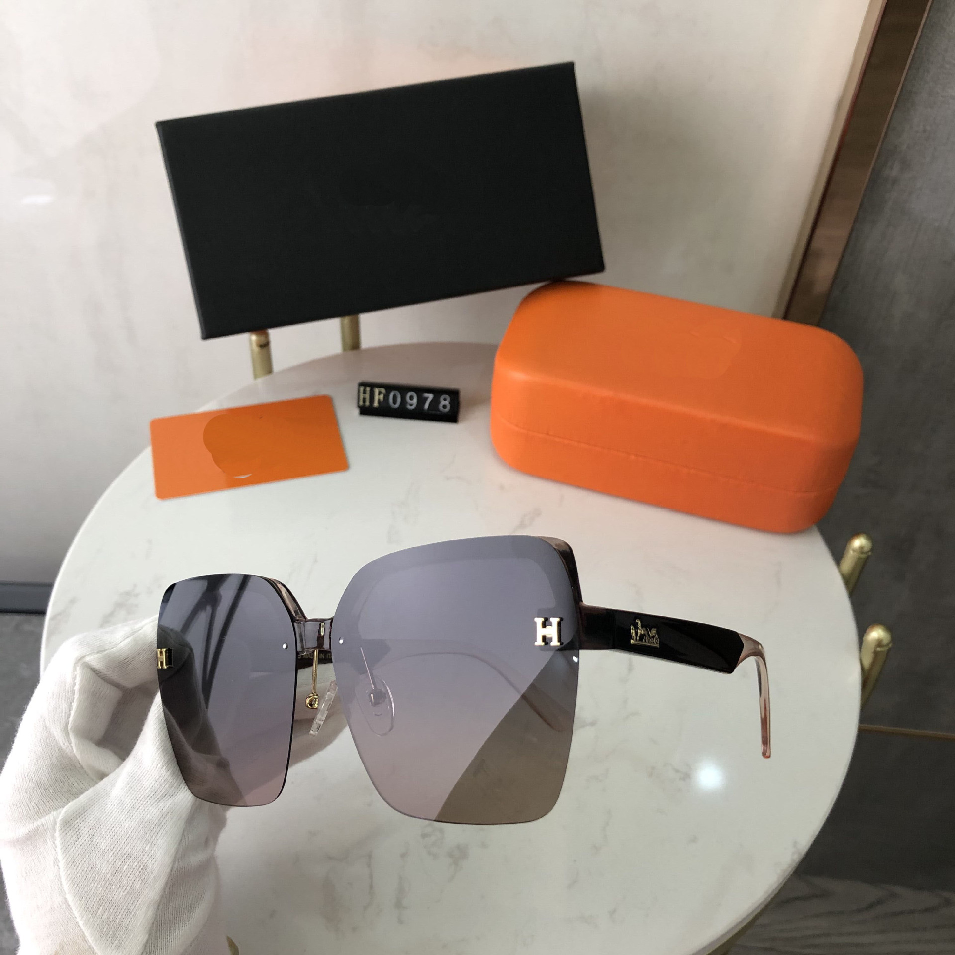 Sophisticated High-End Polarized Sunglasses For Street Style Fashion