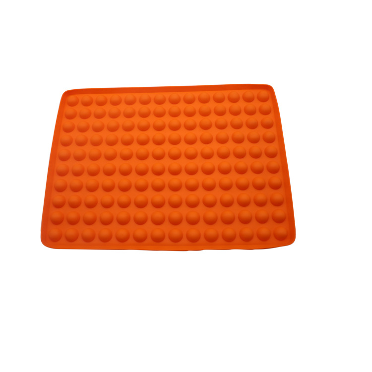 Solid-Colored Silicone Candy Mold for Daily Baking