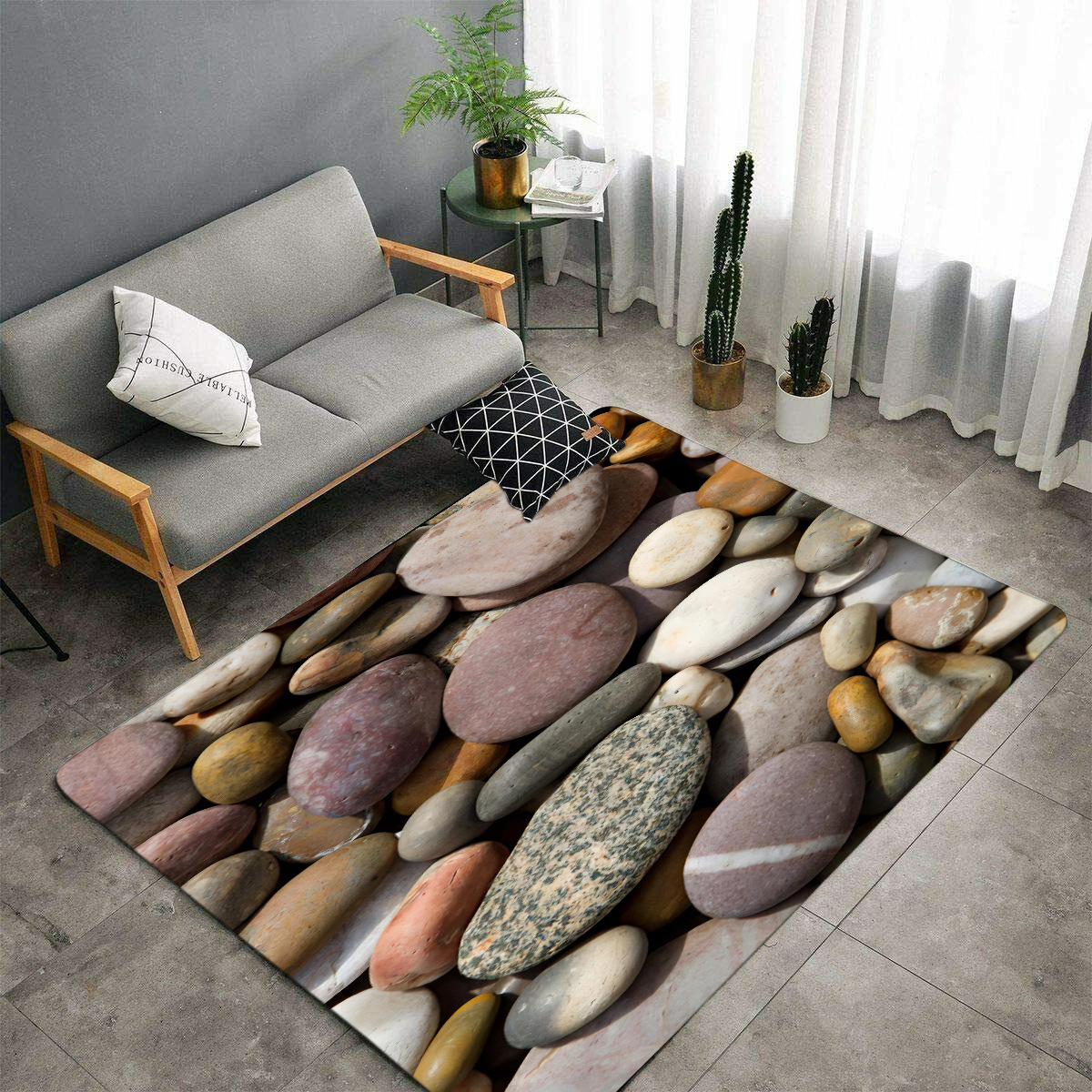 Decorative Printed Floor Mat for Home and Office Decoration