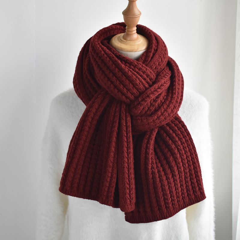 Comfortable Thick Scarf for Cold Winter Accessories
