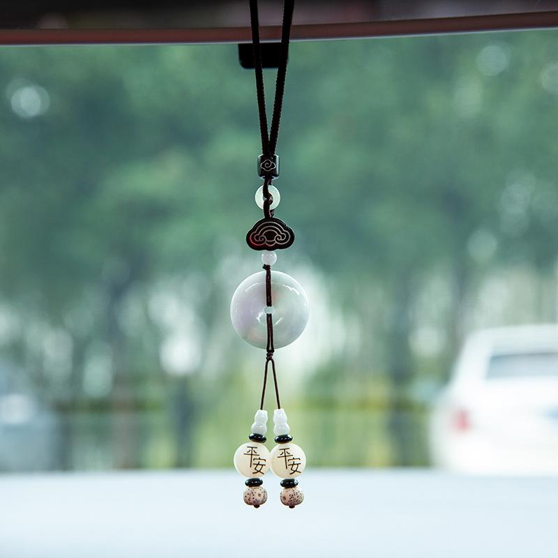 Creative Jade Charm for Car Ornament