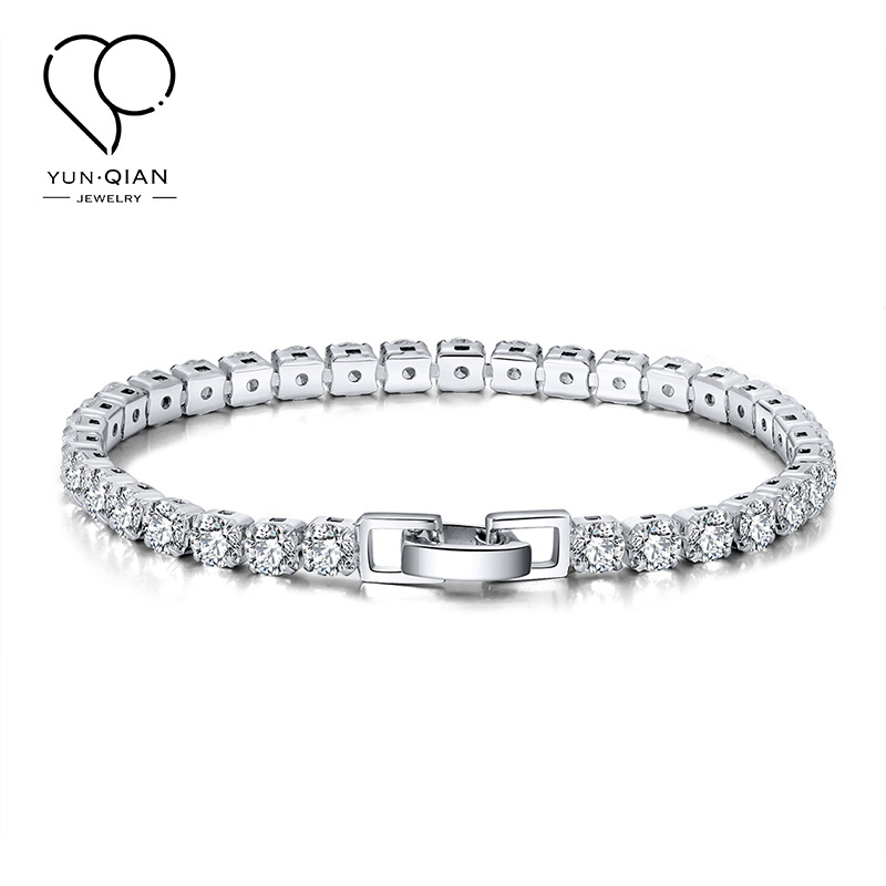 Gorgeous Sterling Silver with Artificial Gems for Classy Events