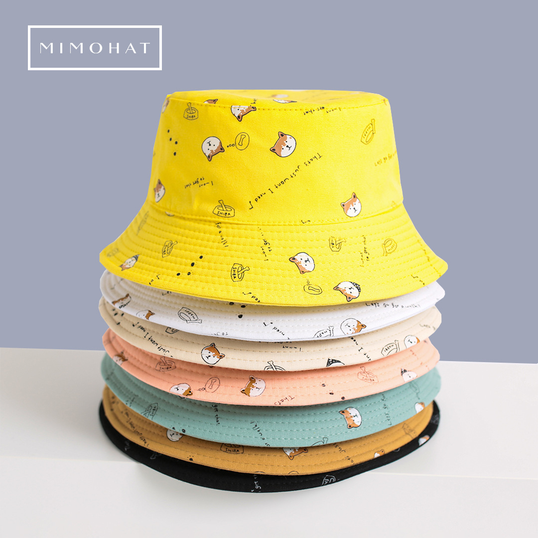 Adorable Bucket Hat with Cute Minimal Designs for Hip Hop Fashion