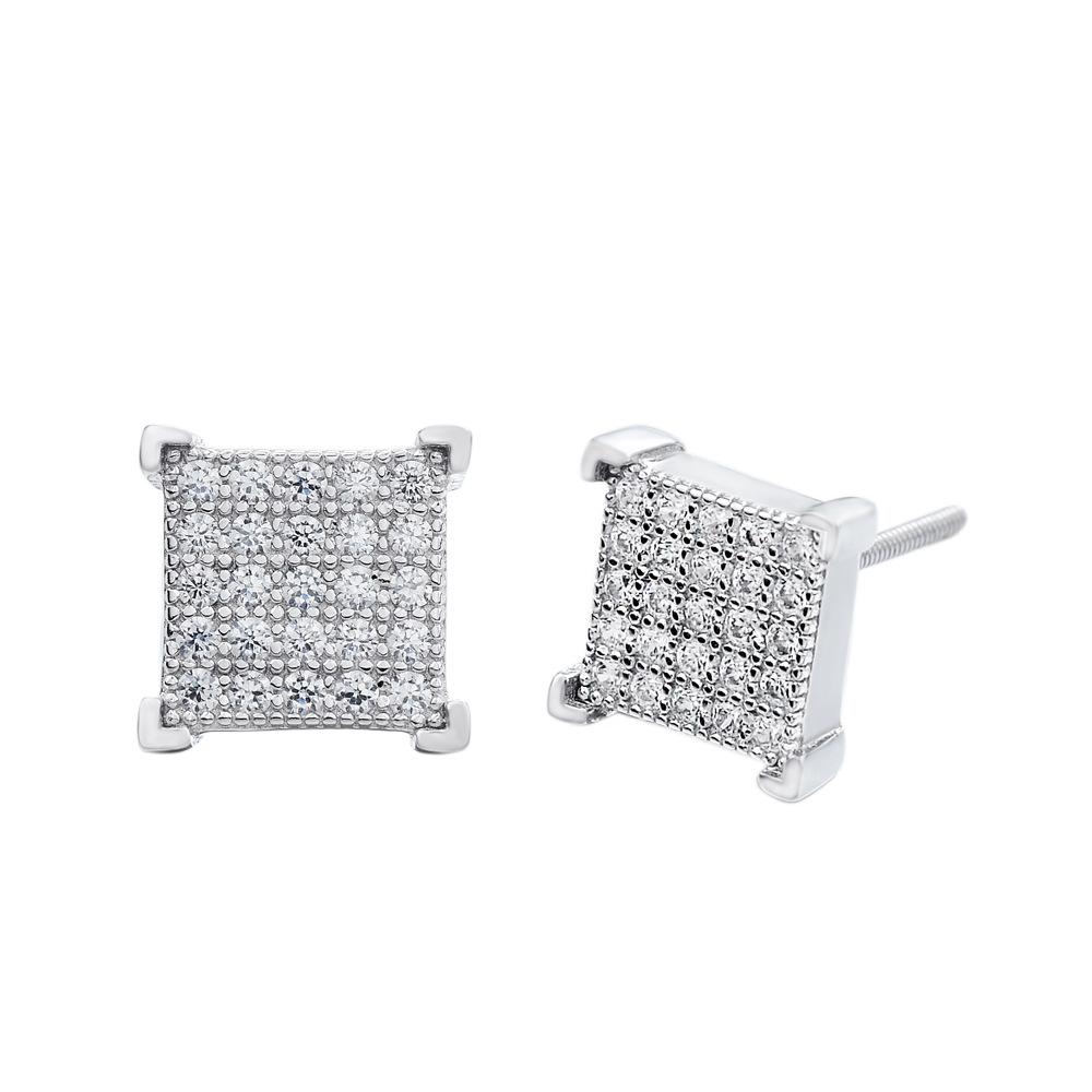 Silver Gray Colored Earrings for Ritzy Wear