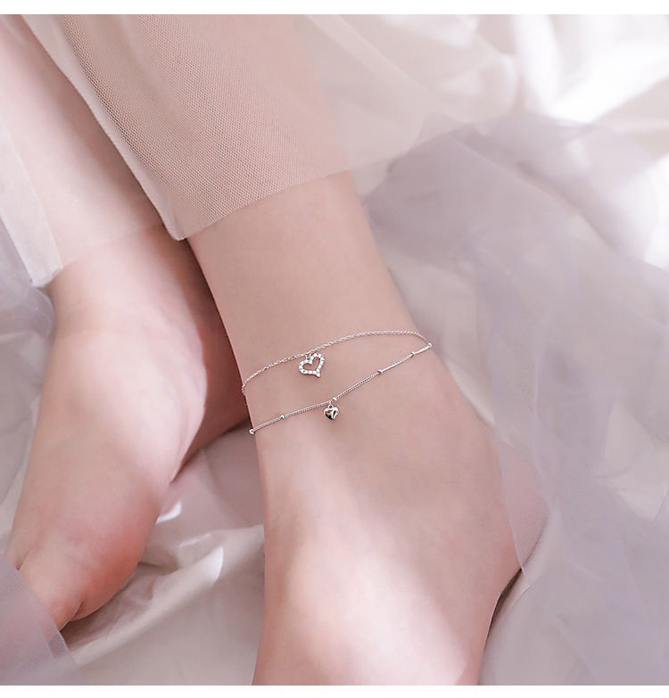 Exquisite Silver Plated Anklet for Ankle Accessories
