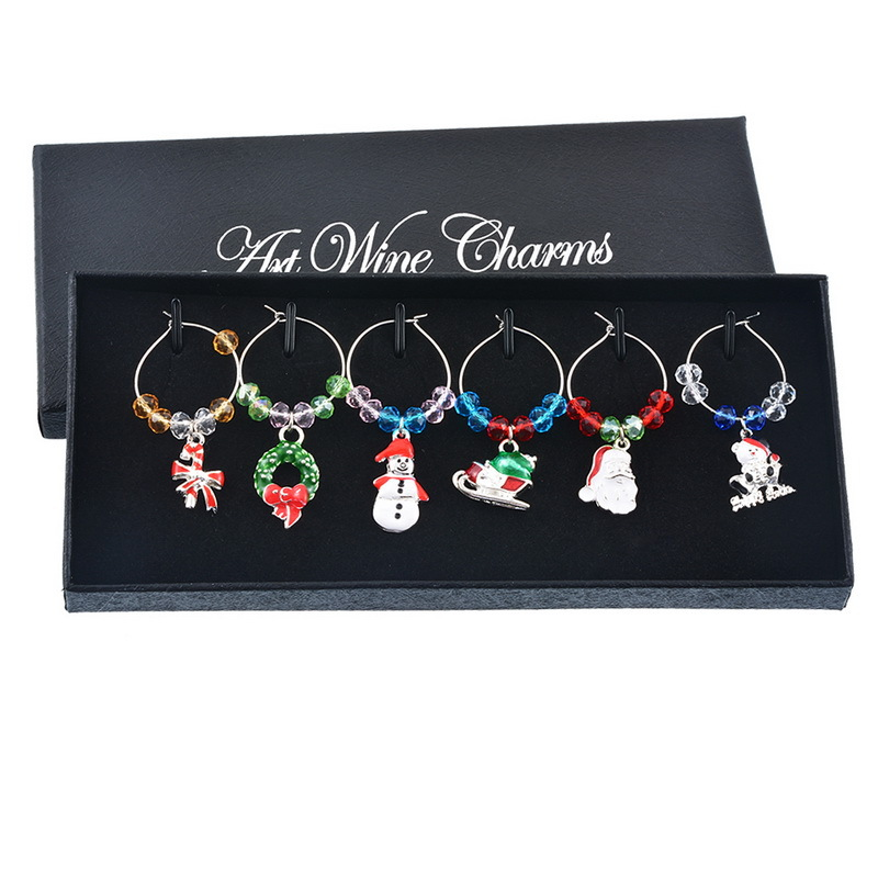 Fulgent Christmas Series Pendant for Sherry Glass Ornaments