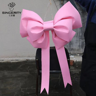 Jazzy Oversized Bow for Eye-Catching Christmas Party Decoration