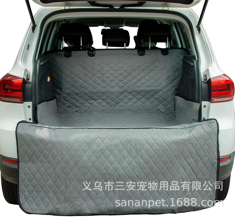 Convenient Dirt-Resistant Waterproof Mats for Car Trunks Pets Mats