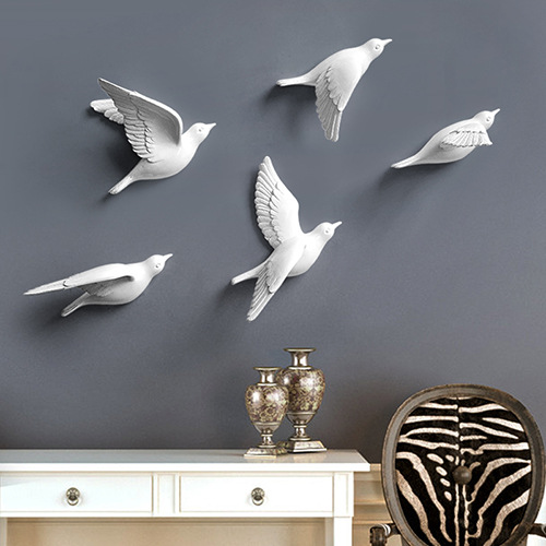 Flying Dove Wall Ornament for Home Decor