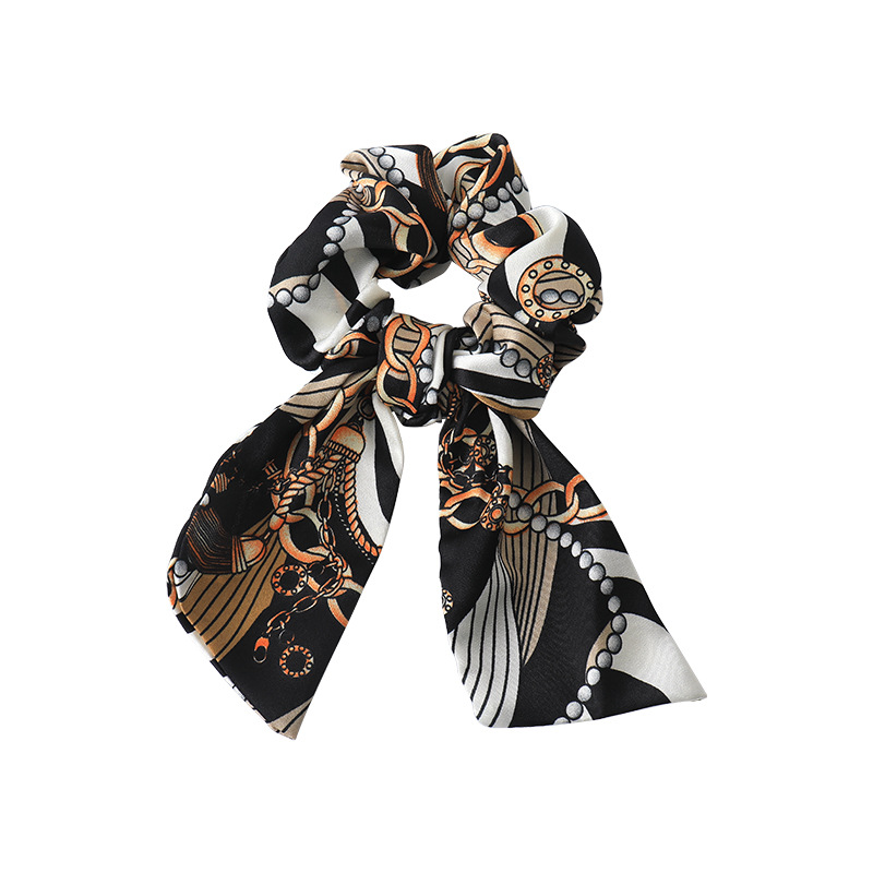 Elegant Printed Bow Scrunchies for Your Classy Looks