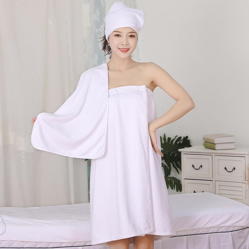 Soft Three-Piece Set Towel Bath for Spa Business
