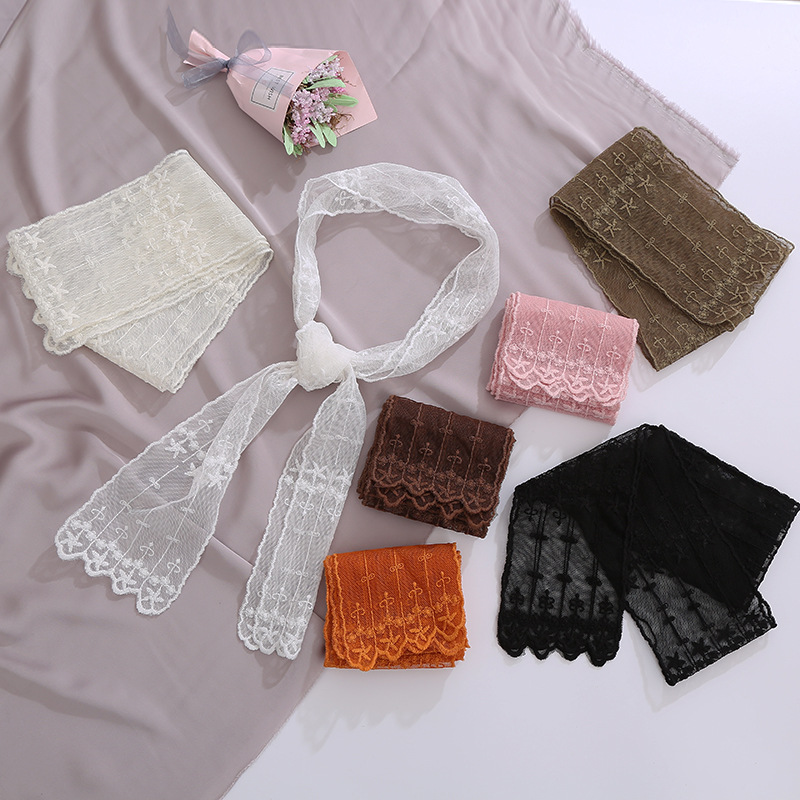Girly and Fancy Lace Hair Ribbon for Ladies Hair Braids